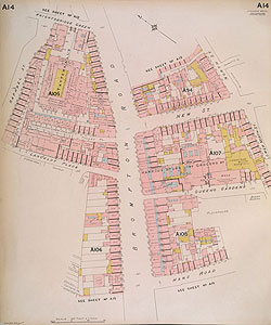 Insurance Plan of London West Vol. A: sheet 14